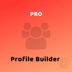 Profile Builder Pro