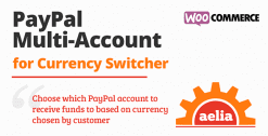 Aelia Woocommerce Paypal Standard (Multi Account)