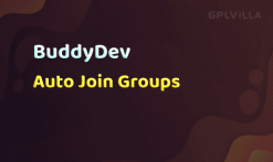 Download BuddyPress Auto Join Groups