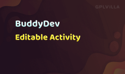 Download BuddyPress Editable Activity
