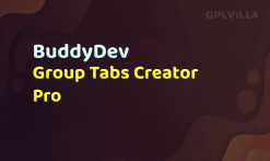 Download BuddyPress Group Tabs Creator Pro