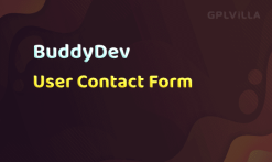 Download BuddyPress User Contact Form
