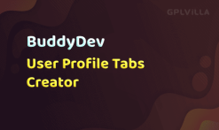 Download BuddyPress User Profile Tabs Creator Pro