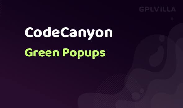 Green Popups(formerly Layered Popups)