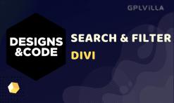 Search & Filter Pro - Divi