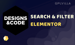 Search & Filter - Elementor
