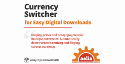 Aelia Currency Switcher for Easy Digital Downloads