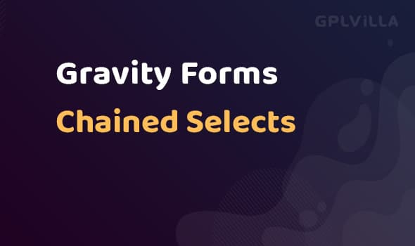 Gravity Forms Chained Selects