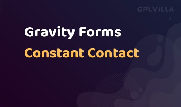 Gravity Forms Constant Contact
