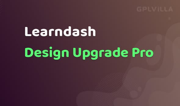 Design Upgrade Pro for Learndash