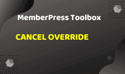 MemberPress Toolbox - Cancel Override