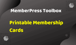 MemberPress Toolbox - Printable Membership Cards