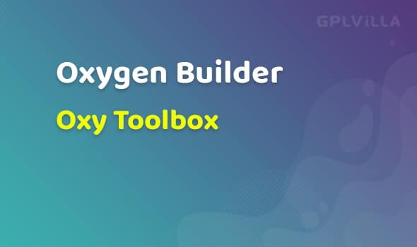 Oxy Toolbox