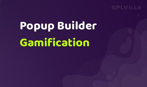 Popup Builder Gamification