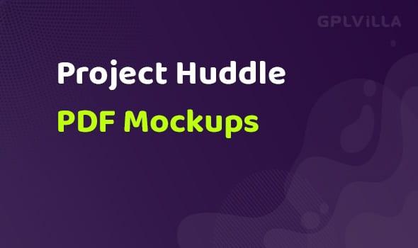 ProjectHuddle PDF Mockups Addon
