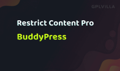 Download Restrict Content Pro - BuddyPress