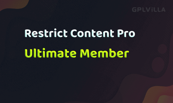 Download Restrict Content Pro - Ultimate Member