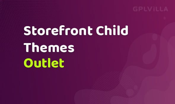 WooCommerce Outlet Storefront Child Theme