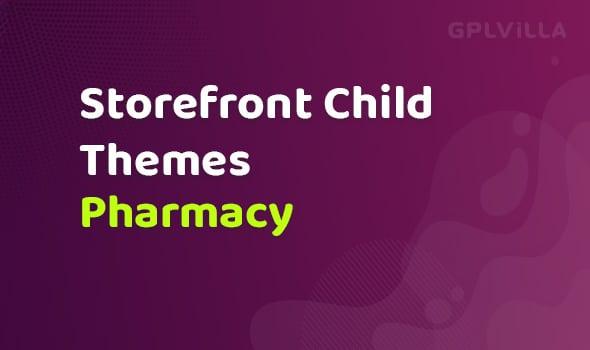 WooCommerce Pharmacy Storefront Child Theme