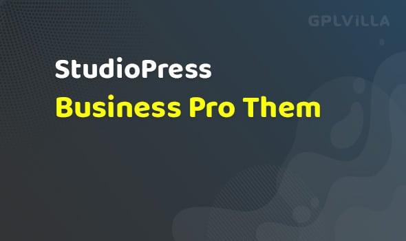 StudioPress Business Pro Them