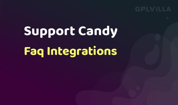 SupportCandy Faq Integrations