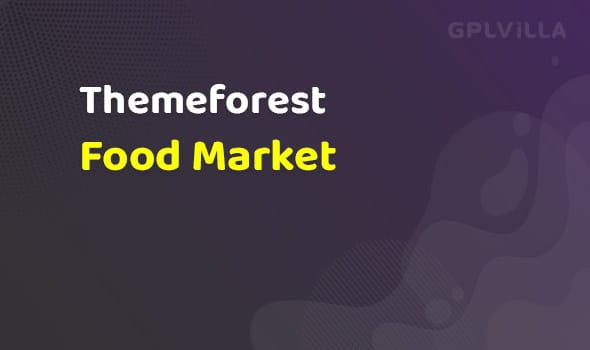 Food Market - Food Shop & Grocery Store WP Theme