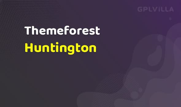 Huntington - Responsive Portfolio WordPress Theme