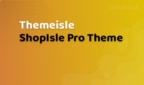 ShopIsle Pro WordPress Theme