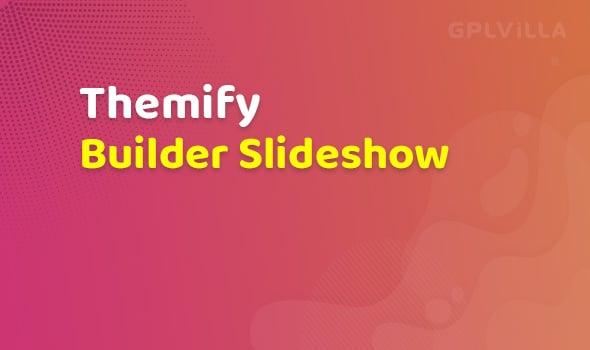 Themify Builder Slideshow Addon