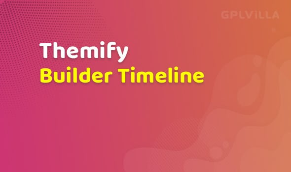 Themify Builder Timeline Addon