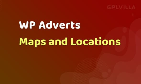 WP Adverts - Maps and Locations