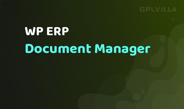 WP ERP Document Manager