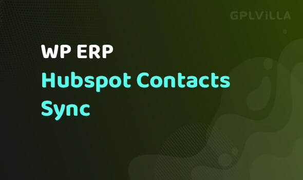WP ERP Hubspot Contacts Sync