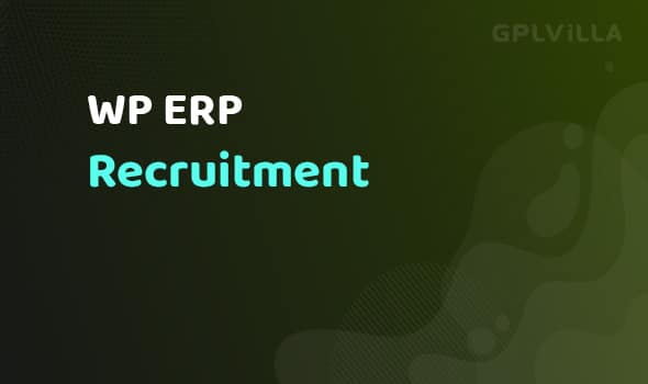 WP ERP Recruitment