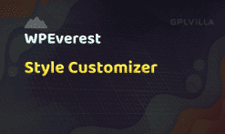 User Registration Style Customizer