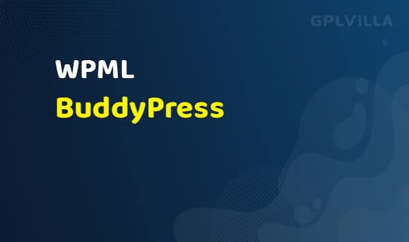 WPML - BuddyPress Multilingual AddOn