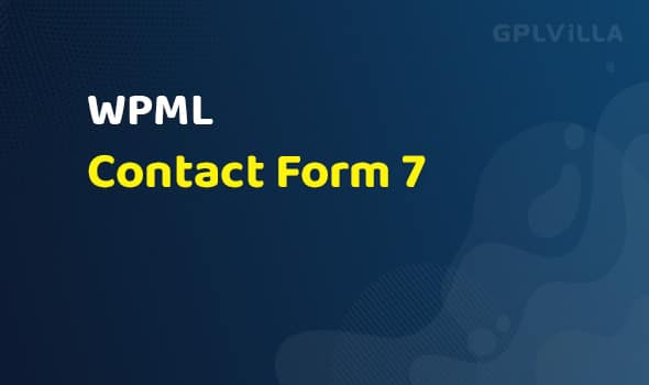 WPML - Contact Form 7 Multilingual Addon